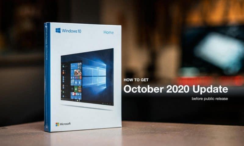 Hướng dẫn cập nhật Windows 10 tháng 10 – Oct 2020 Update qua Insider Program