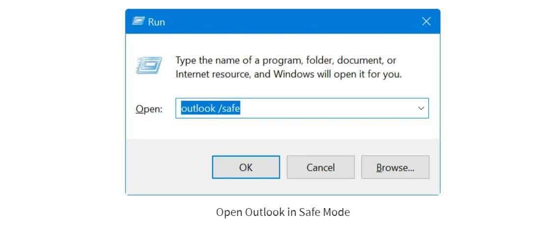 Lỗi Working offline trên Outlook