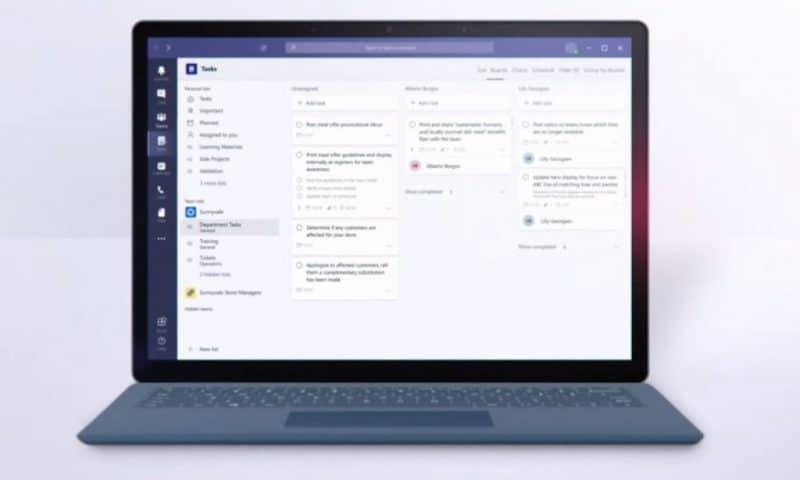 Microsoft giới thiệu ứng dụng Tasks mới trên Microsoft Teams