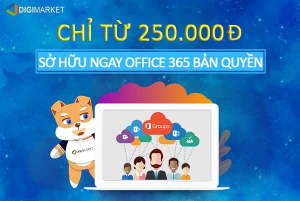 Bản quyền Office 365.