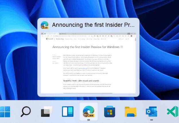 Windows 11 Insider: Nâng cấp mới.