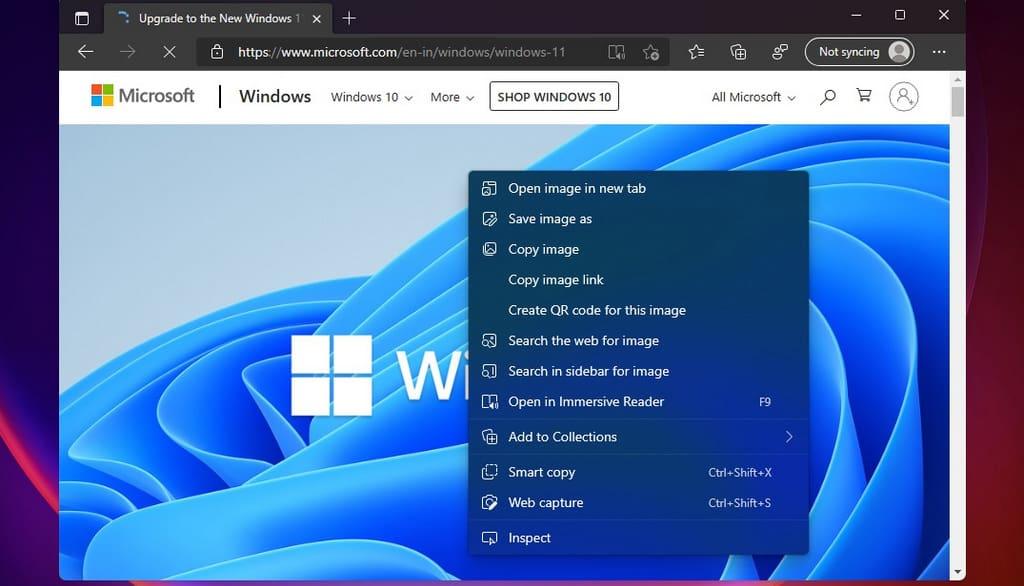 Microsoft Edge có giao diện mới.