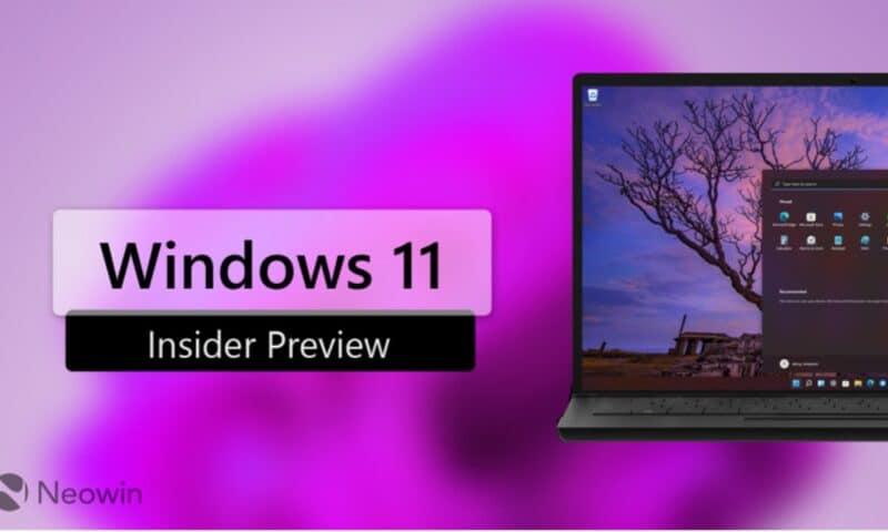 Cài đặt Windows 11 Insider: Nâng cấp mới