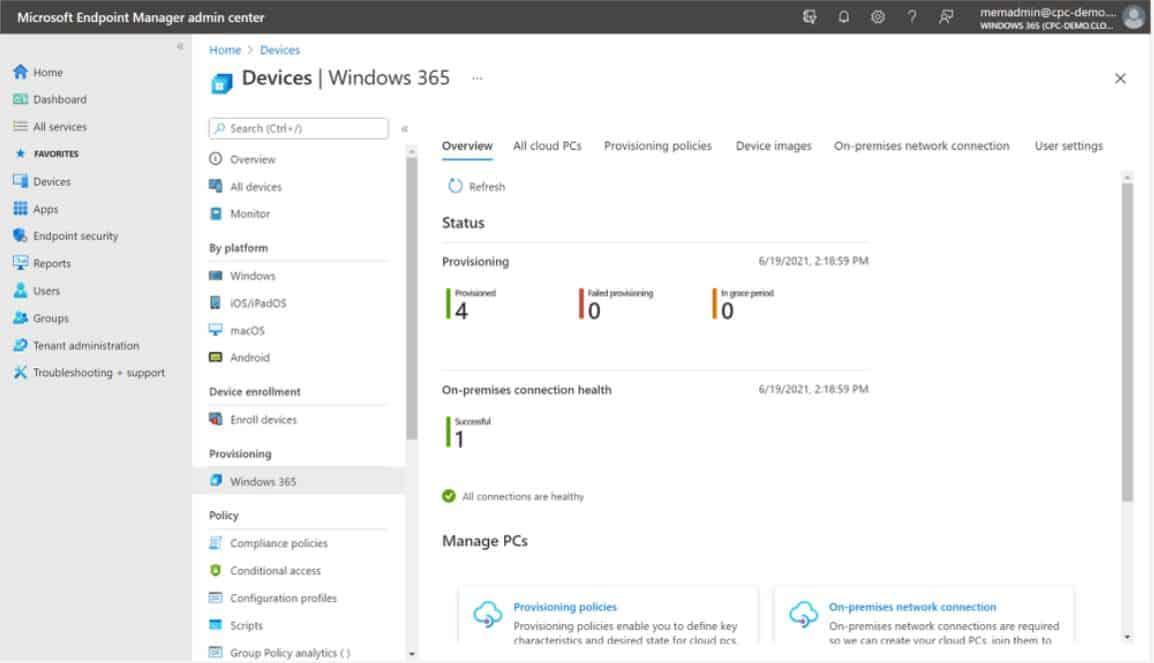 Windows 365 và Cloud PC
