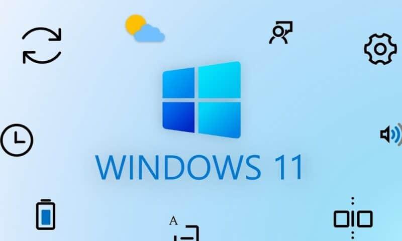 Chuyển nút Start menu sang trái trên Windows 11