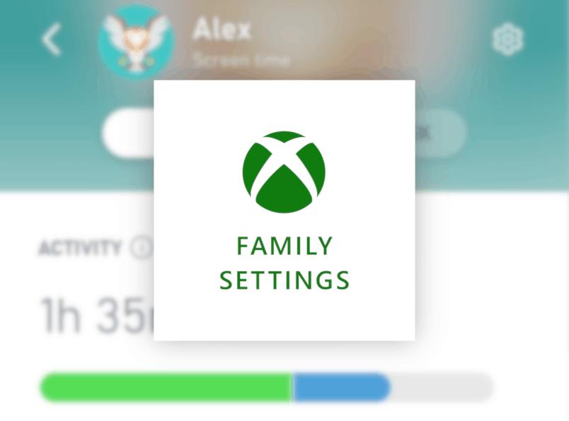 Ứng dụng Xbox Family Settings : Cập nhật tiện ích cho cha mẹ.