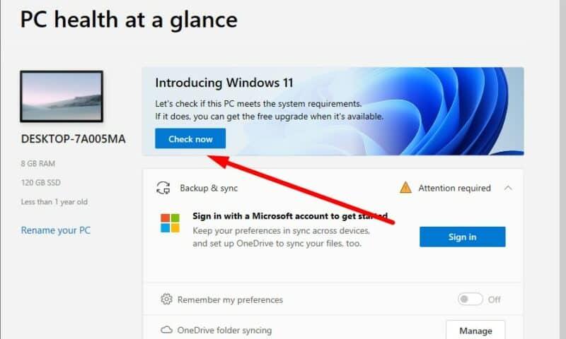 """Hướng dẫn bạn cách sửa cảnh báo lỗi """"This PC can't run Windows 11"""" khi kiểm tra bằng công cụ PC Health Check"""