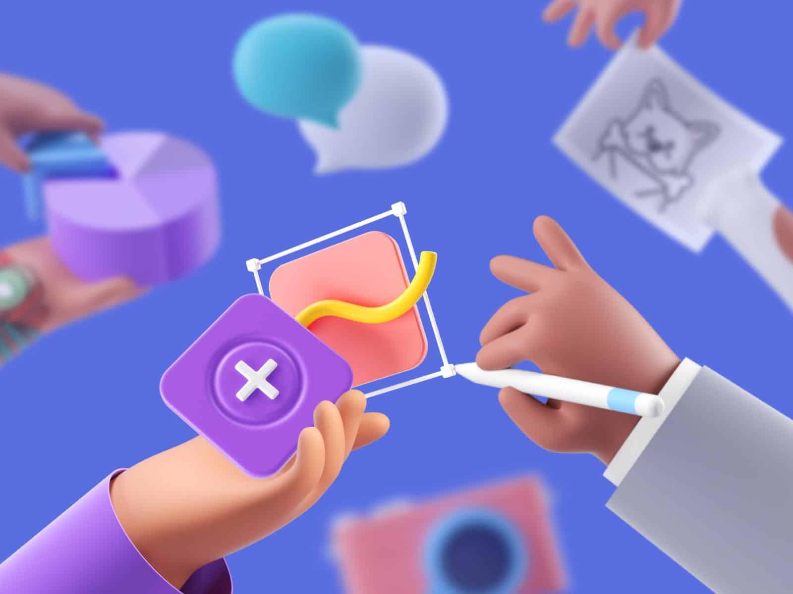 Gói biểu tượng cảm xúc 3D mới.