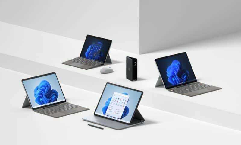 Microsoft chính thức ra mắt loạt sản phẩm chạy Windows 11 gồm Surface Laptop Studio, Surface Pro 8 | X | Go 3 và Surface Duo 2 5G